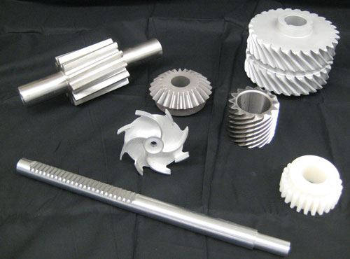gear and shaft components