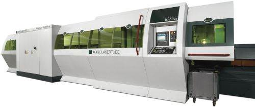 BLM Group offers the LT fiber laser and the Elect XL tube-bending machine