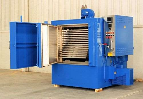 Grieve No. 873 oven for processing corrosive materials