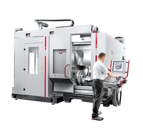 Hermle CNC C 22 U dynamic high speed machining center