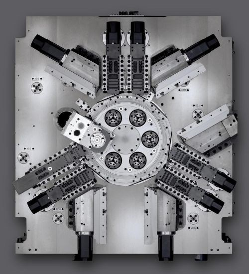 Index MS16C csix-spindle CNC automatic production lathe