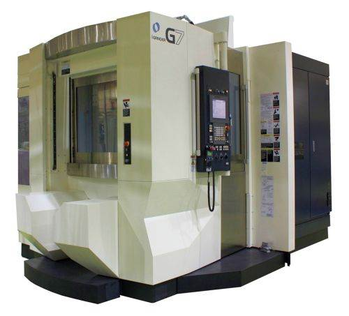 G7 i Grinder five-axis HMC from Makino