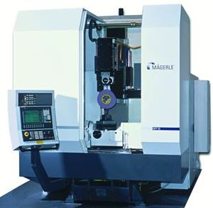 United Grinding Magerle MFP 50 five-axis CD grinder