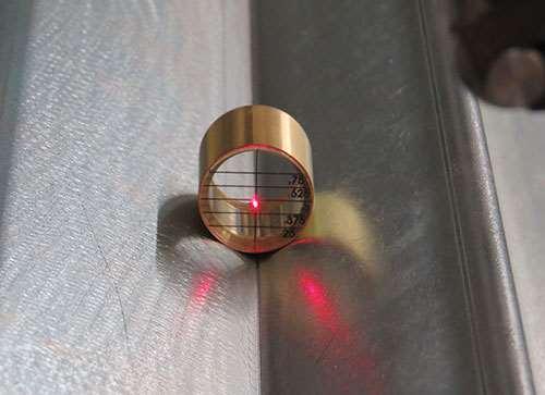 laser bar feeder alignment