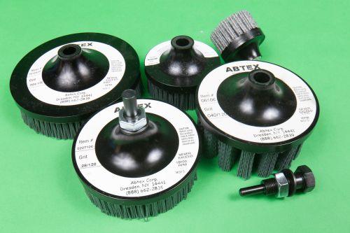 Abtex Hex Drive abrasive filament tools
