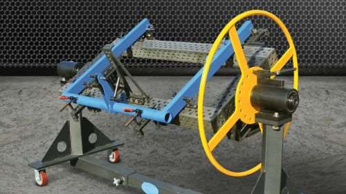 Bluco manual rollover positioners