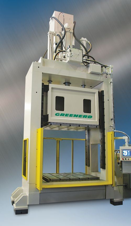 Greenerd hydraulic press