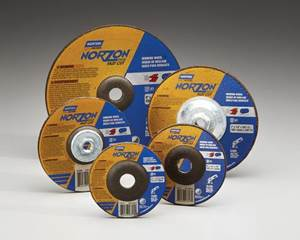 Norton Abrasives NorZon Plus depressed-center wheel