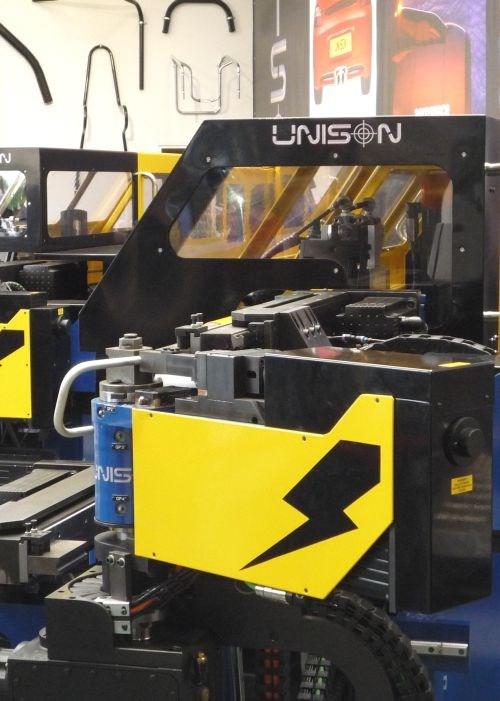 Unison tube-bending machine
