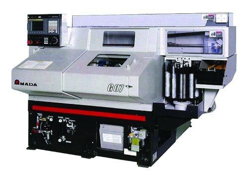 Amada Machine Tools G07 gang-type CNC chucker turning center