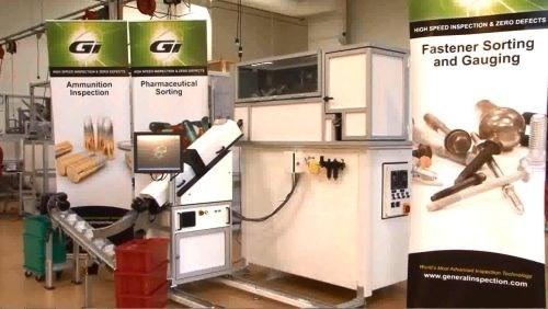General Inspection Gi-360 fastener sorting system