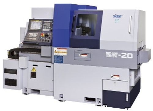 Star CNC Machine Tool SW-20 Swiss-type automtic lathe