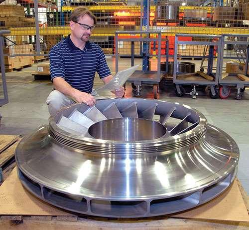 centrifugal compressor impeller