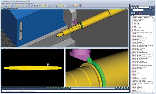 Vericut CNC verification and simulation software from CGTech