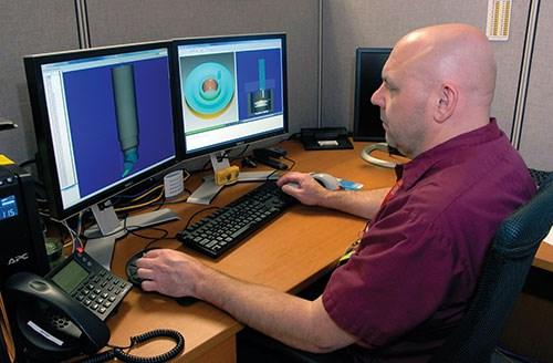 George Slezak impeller programmer for the Rotor Division