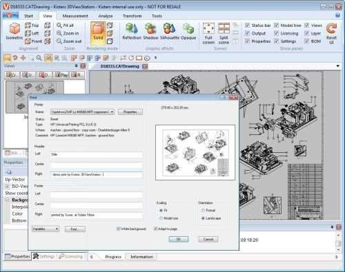 Kisters 3DViewStation software