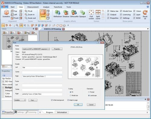 Kisters 3DViewStation software