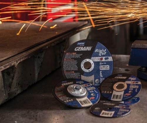 Norton Gemini Rightcut abrasive wheels