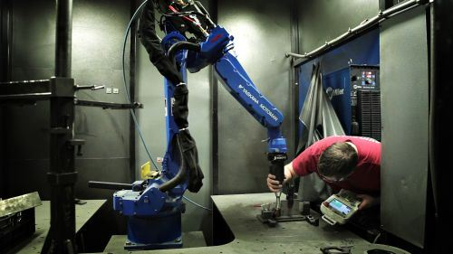 Yaskawa Motoman and Robotiq Kinetiq teaching technology