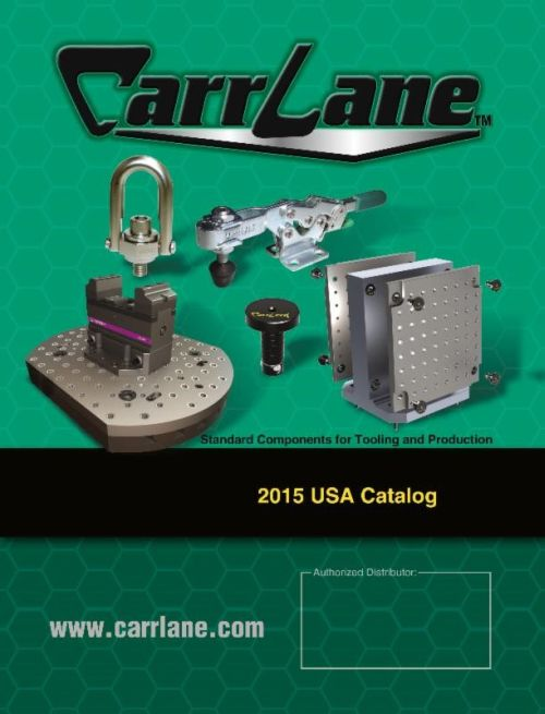 Carr Lane Manufacturing 2015 catalog