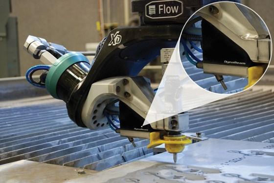 Flow International DynaBeam laser sensing system