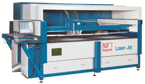 Knuth laser cutting machine