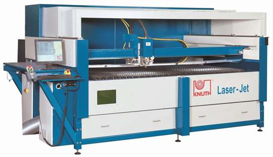 Knuth Laser-Jet  cutting machines