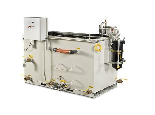 PRAB Guardian coolant recycling system