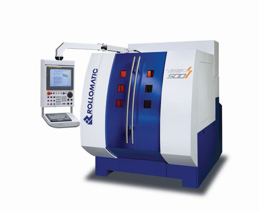 Rollomatic LaserSmart laser cutting and ablation machine