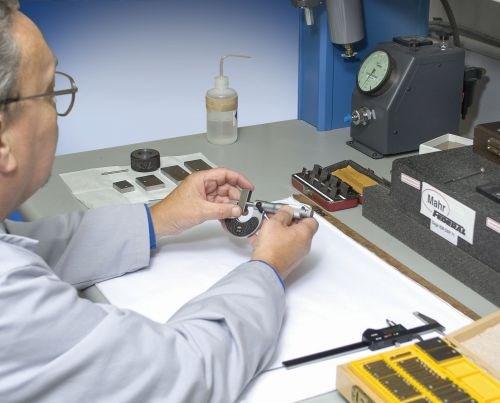 checking gaging equipment