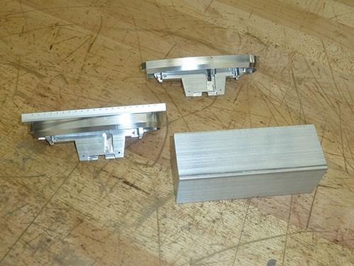 rectangular blank, finished workpiece