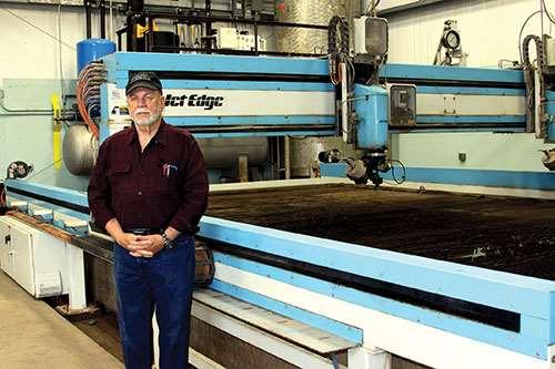 Lloyd Smith of Gulf Machine Shop