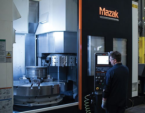 Mazak machining center