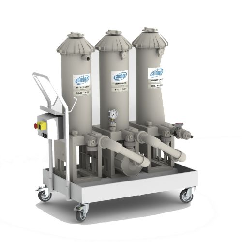 Siebec Minipure mobile filtration unit