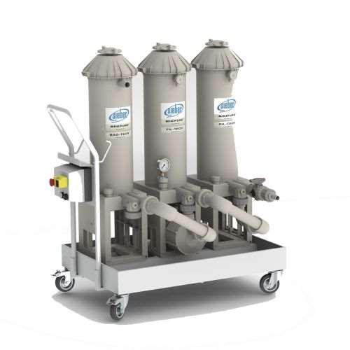 Siebec Minipure mobile filtration unit