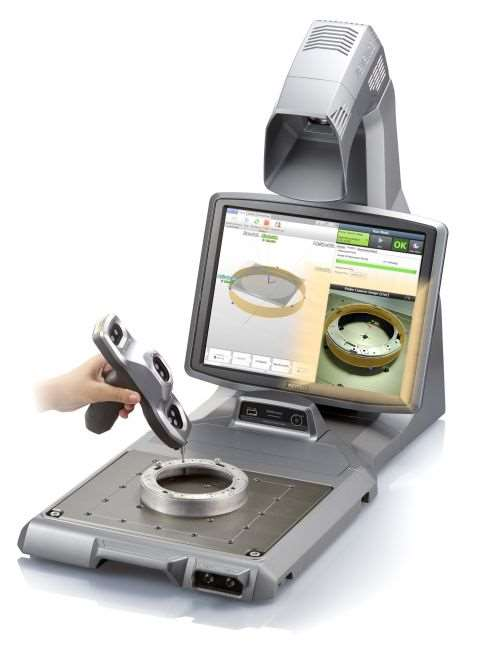 Keyence XM-series handheld probe coordinate measuring machine