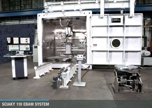 Electron Beam Additive Manufacturing (EBAM) system