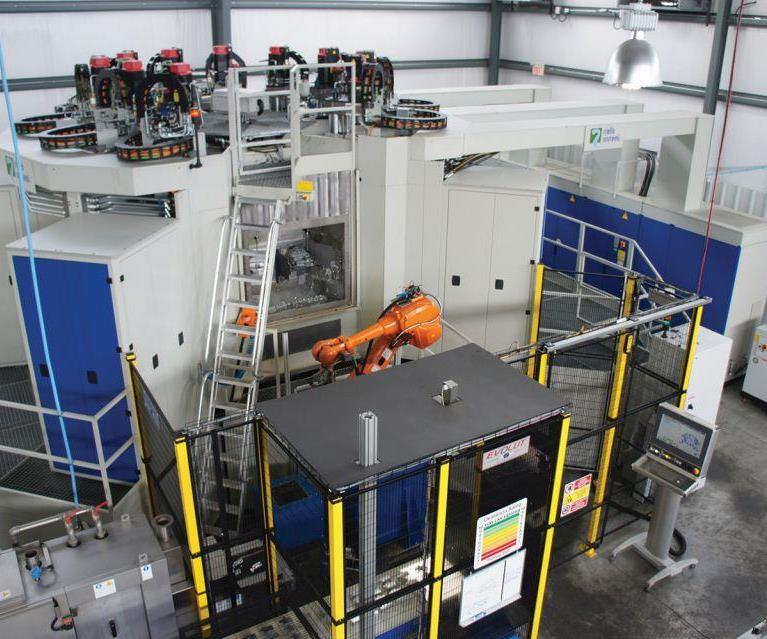 TFL 400 rotary transfer machine