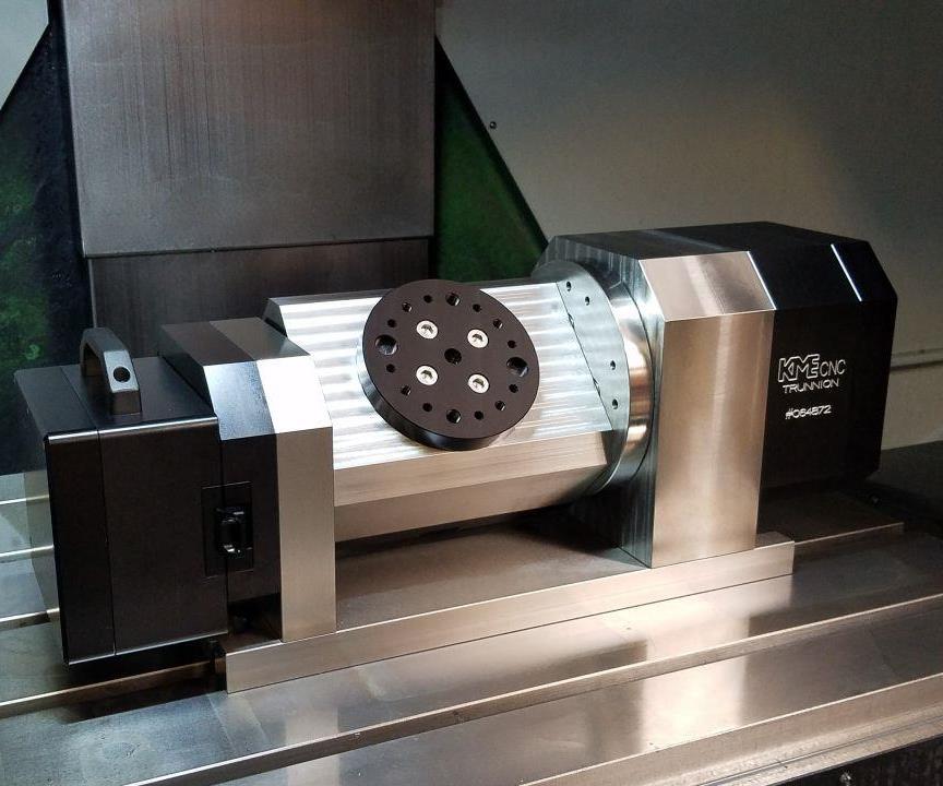KME CNC trunnion