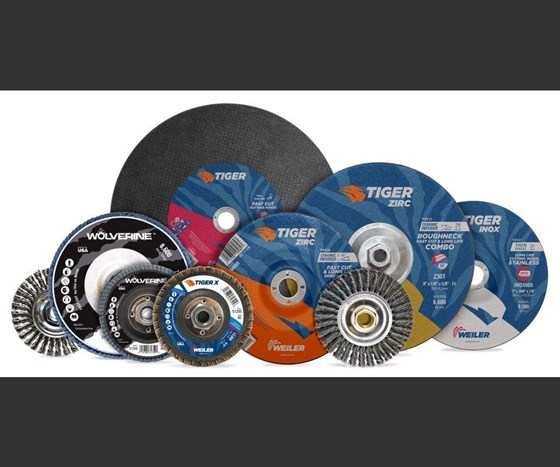 Weiler Abrasives Tiger