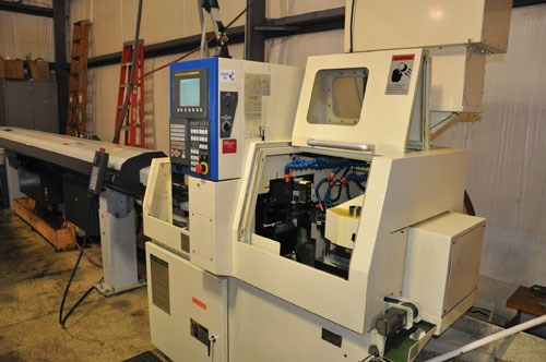 Tsugami BE20 Swiss type lathe