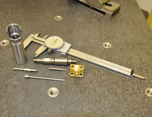 parts created on Swiss-lathe