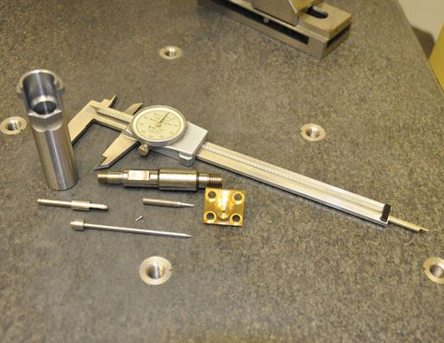 parts created on Swiss-lathe