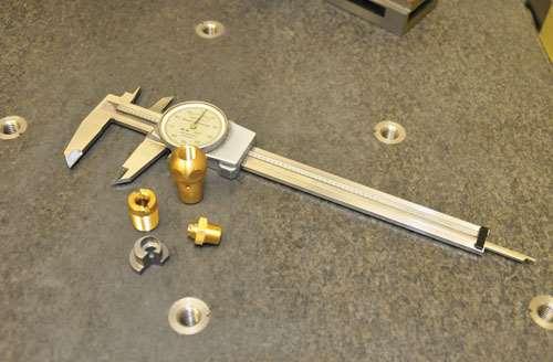 Swiss type lathe parts