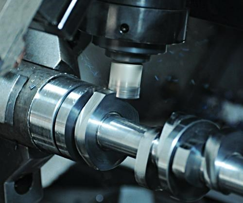 twin-spindle/twin turret lathe