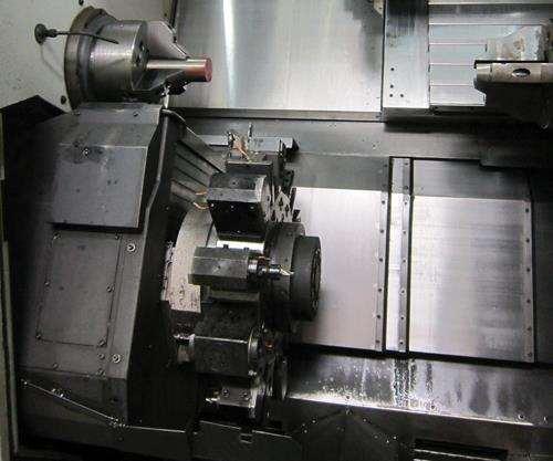 Camshaft core machining