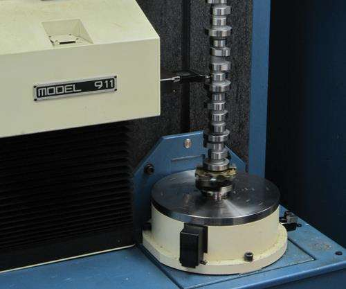 Adcole cylindrical coordinate measuring machine