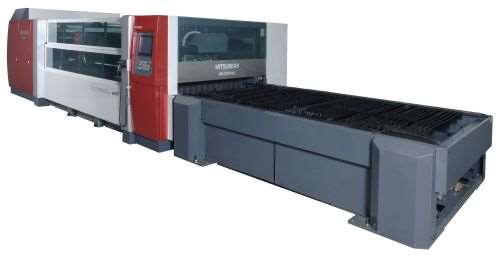 eX series Mitsubishi 2D laser machine from MC Machinery Systems