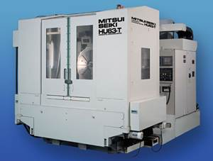Mitsui Seiki HU63-T five-axis CNC machining center