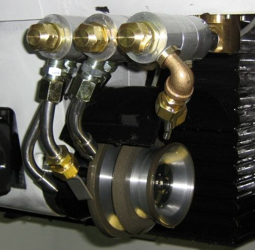 cool grind coherent jet nozzle